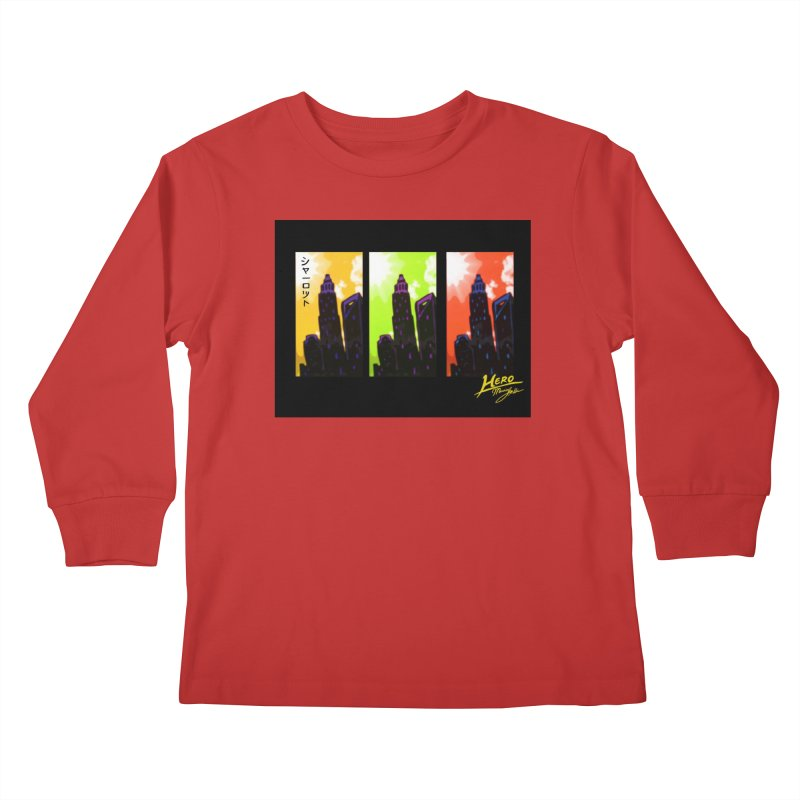 CLT Charlotte City Kids Longsleeve T-Shirt by MillsburyMedia's Artist Shop