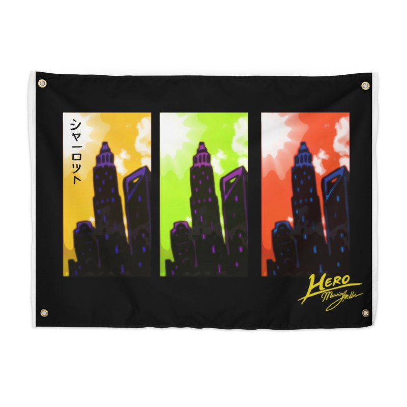 CLT Charlotte City Home Tapestry by MillsburyMedia's Artist Shop