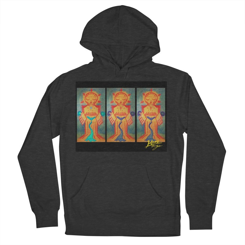 Enlightened Path Men's French Terry Pullover Hoody by MillsburyMedia's Artist Shop