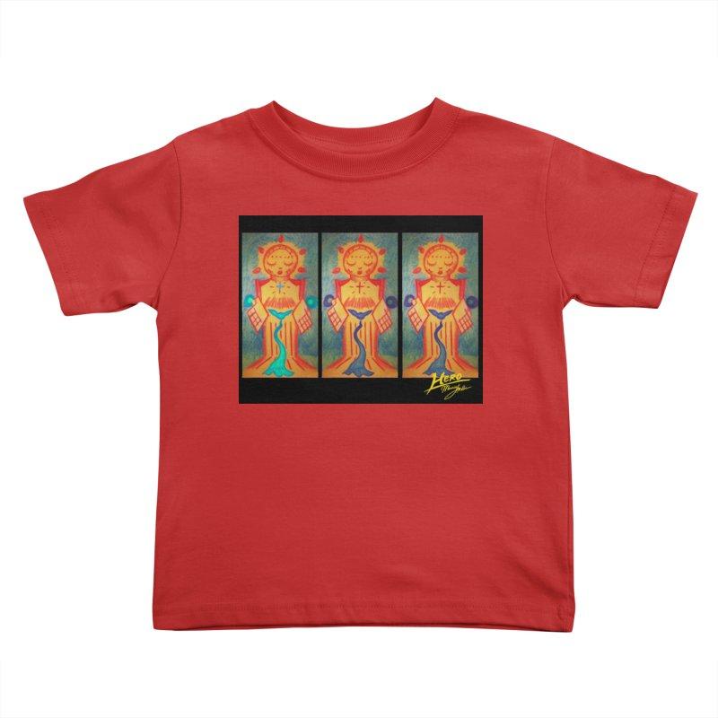 Enlightened Path Kids Toddler T-Shirt by MillsburyMedia's Artist Shop