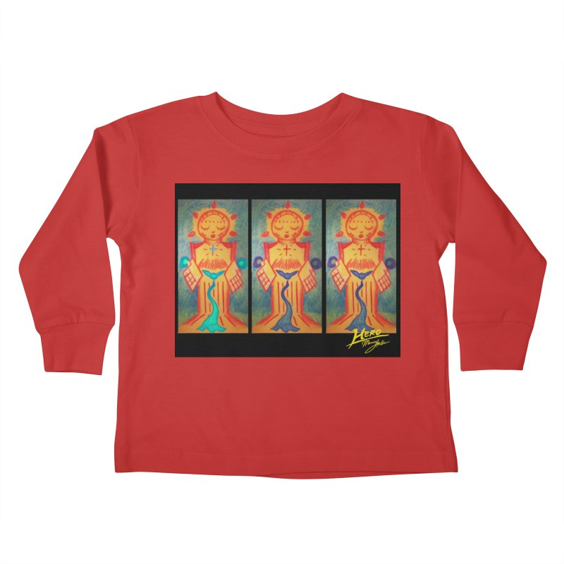 Enlightened Path Kids Toddler Longsleeve T-Shirt by MillsburyMedia's Artist Shop