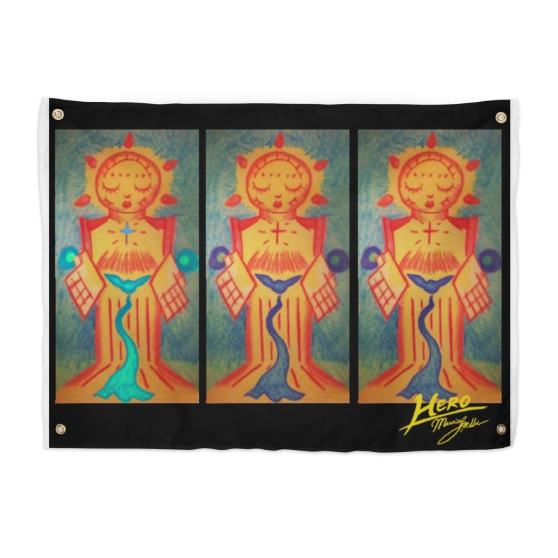 Enlightened Path Home Tapestry by MillsburyMedia's Artist Shop