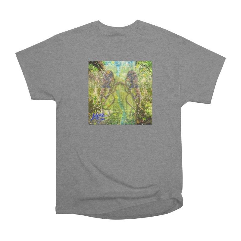 Amazon Girl Men's Heavyweight T-Shirt by MillsburyMedia's Artist Shop