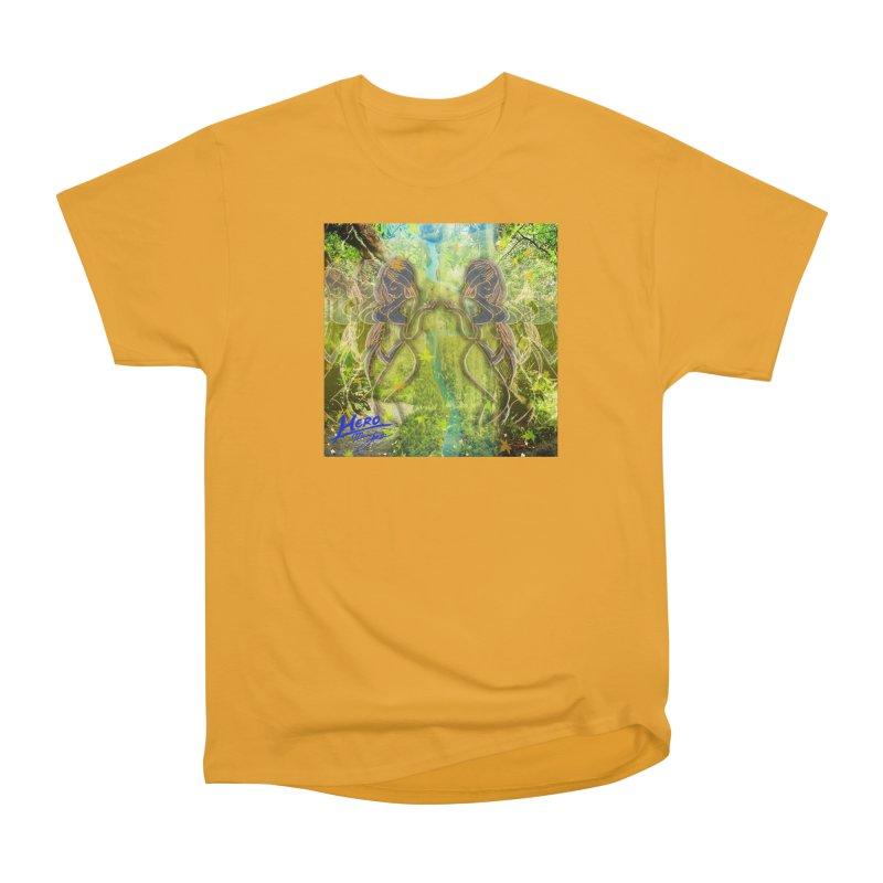 Amazon Girl Women's Heavyweight Unisex T-Shirt by MillsburyMedia's Artist Shop