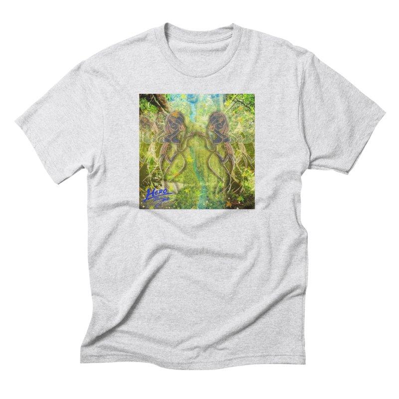 Amazon Girl Men's Triblend T-Shirt by MillsburyMedia's Artist Shop