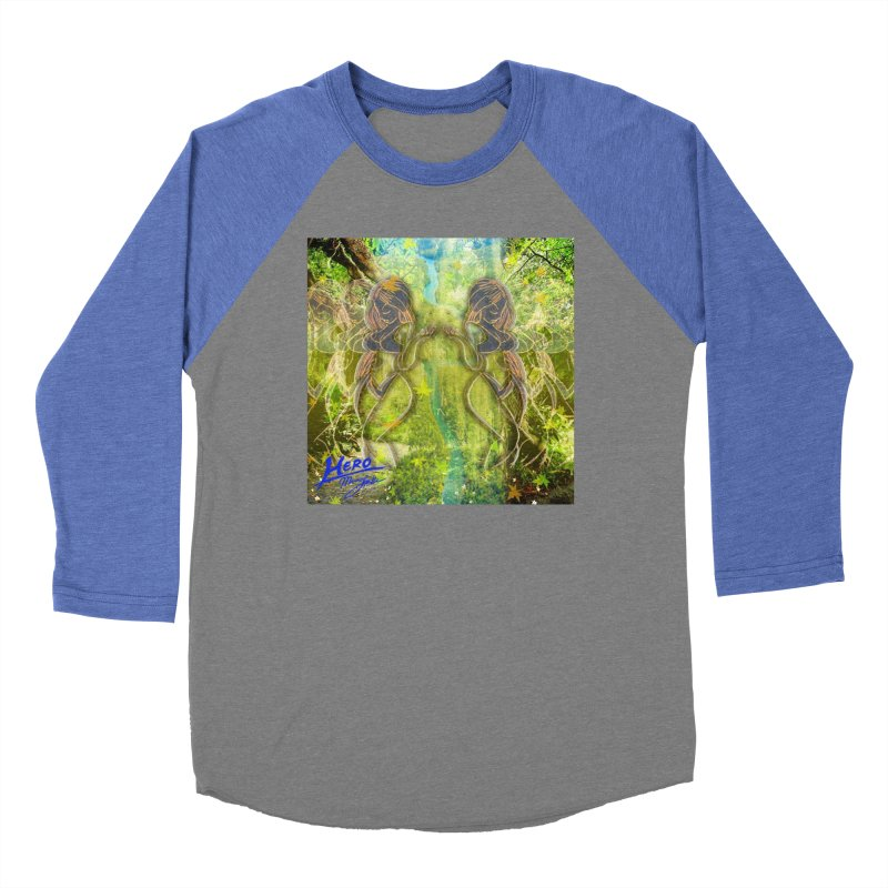 Amazon Girl Women's Baseball Triblend Longsleeve T-Shirt by MillsburyMedia's Artist Shop