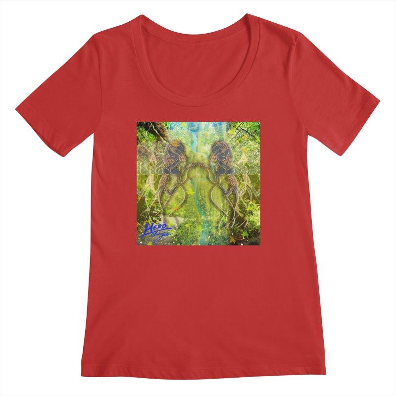 Amazon Girl Women's Regular Scoop Neck by MillsburyMedia's Artist Shop