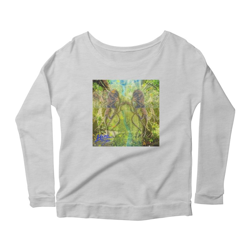 Amazon Girl Women's Scoop Neck Longsleeve T-Shirt by MillsburyMedia's Artist Shop