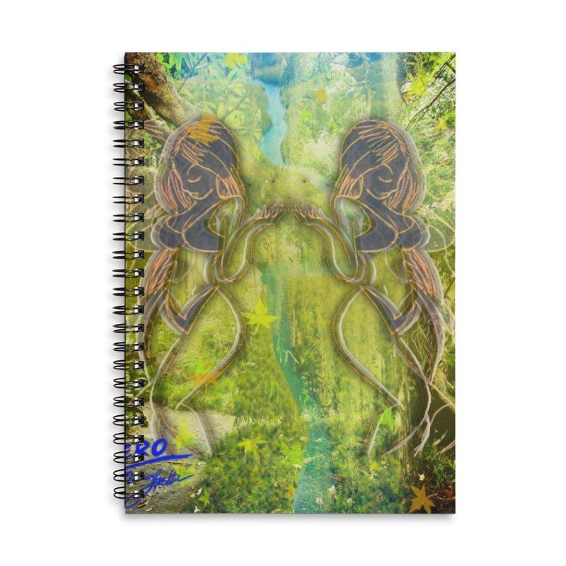 Amazon Girl Accessories Lined Spiral Notebook by MillsburyMedia's Artist Shop