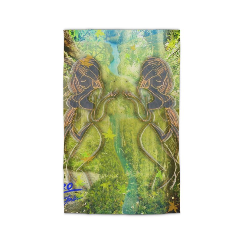 Amazon Girl Home Rug by MillsburyMedia's Artist Shop
