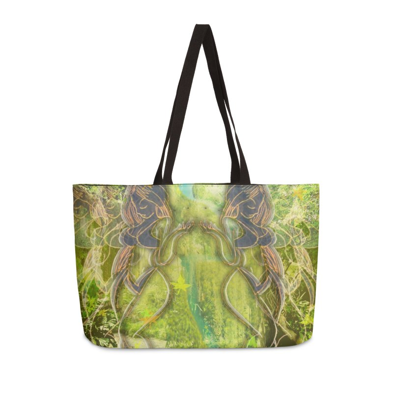 Amazon Girl Accessories Weekender Bag Bag by MillsburyMedia's Artist Shop