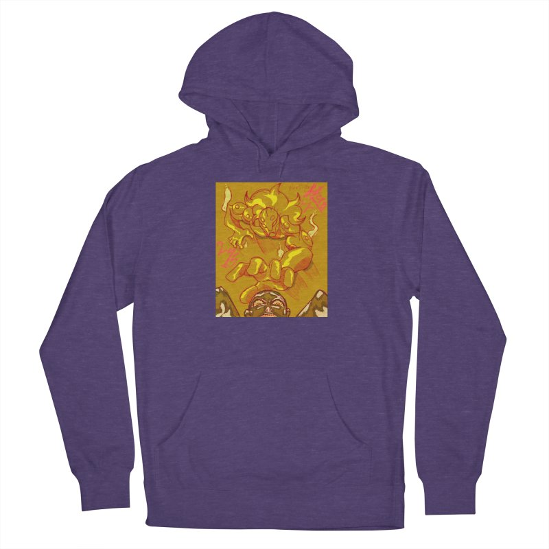 Hand of Fate Men's French Terry Pullover Hoody by MillsburyMedia's Artist Shop