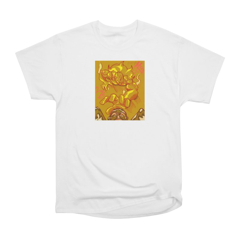Hand of Fate Women's Heavyweight Unisex T-Shirt by MillsburyMedia's Artist Shop