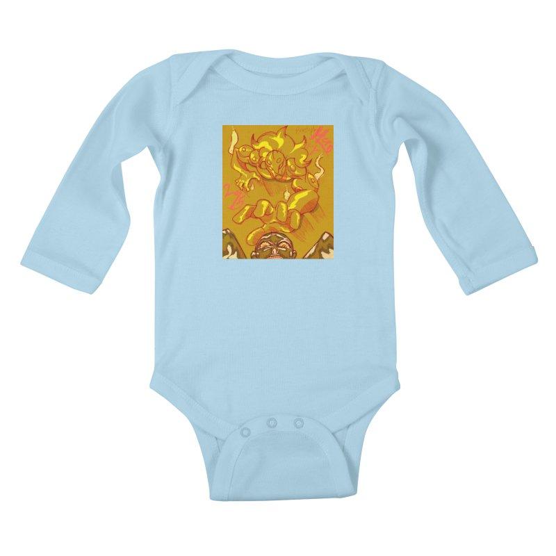 Hand of Fate Kids Baby Longsleeve Bodysuit by MillsburyMedia's Artist Shop