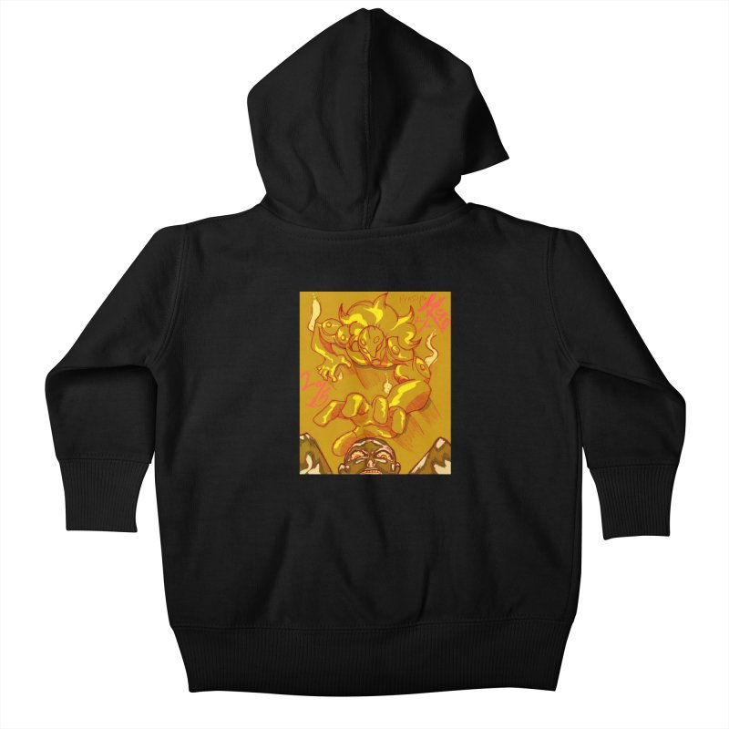 Hand of Fate Kids Baby Zip-Up Hoody by MillsburyMedia's Artist Shop