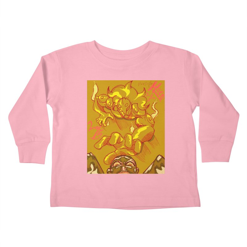 Hand of Fate Kids Toddler Longsleeve T-Shirt by MillsburyMedia's Artist Shop