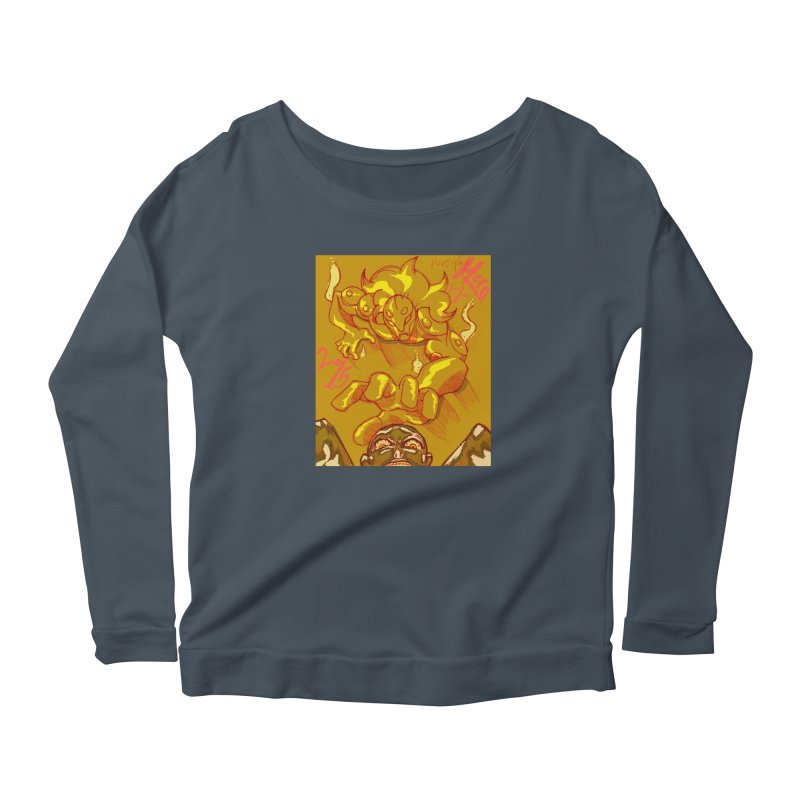 Hand of Fate Women's Scoop Neck Longsleeve T-Shirt by MillsburyMedia's Artist Shop