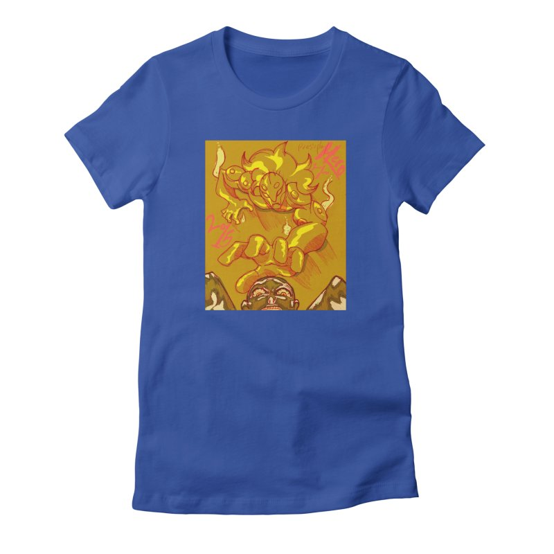 Hand of Fate Women's Fitted T-Shirt by MillsburyMedia's Artist Shop