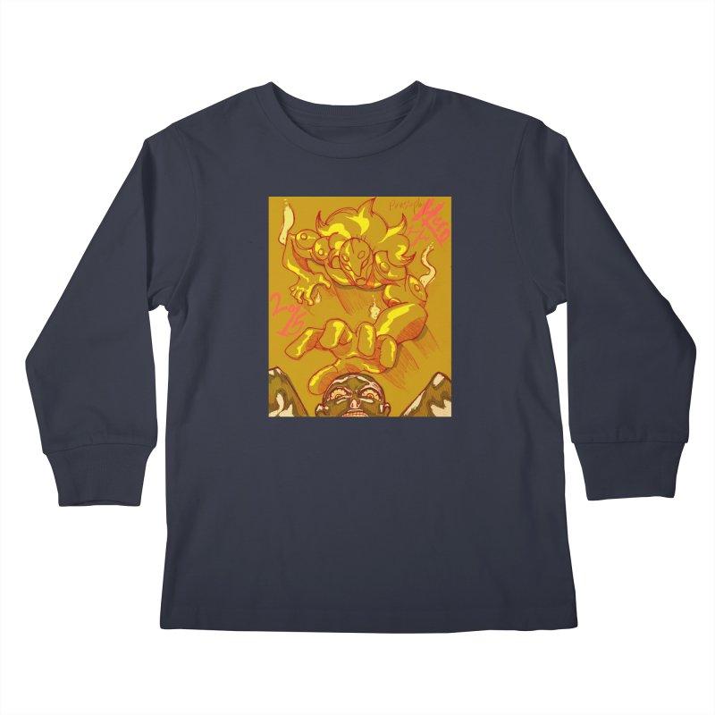Hand of Fate Kids Longsleeve T-Shirt by MillsburyMedia's Artist Shop