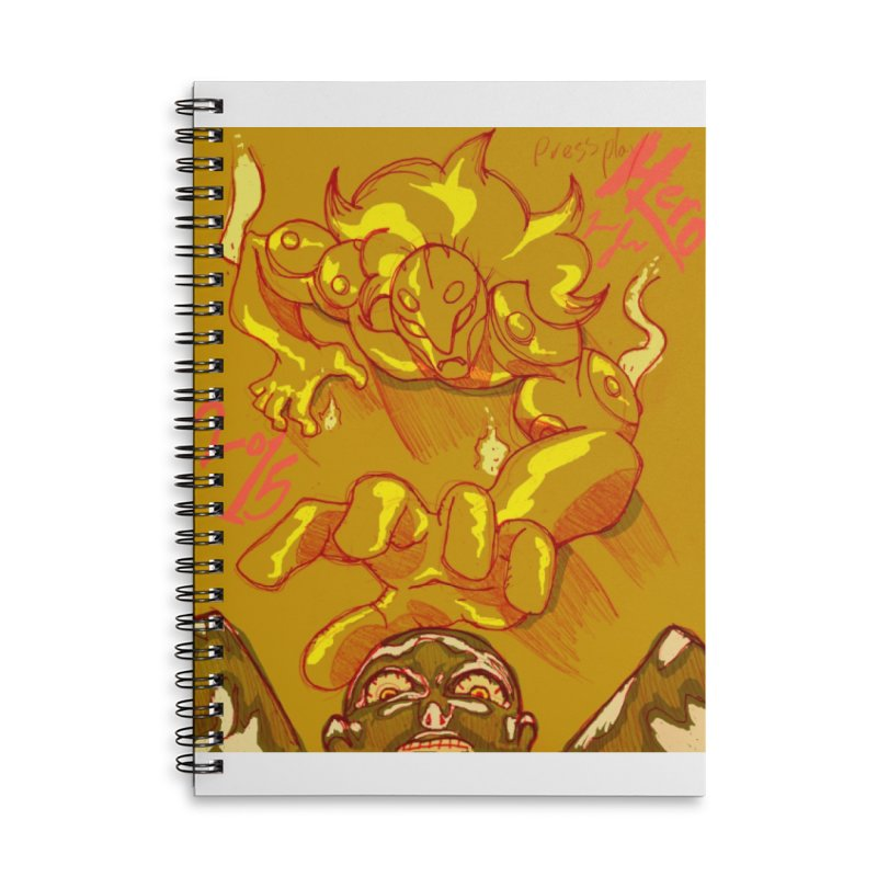 Hand of Fate Accessories Lined Spiral Notebook by MillsburyMedia's Artist Shop