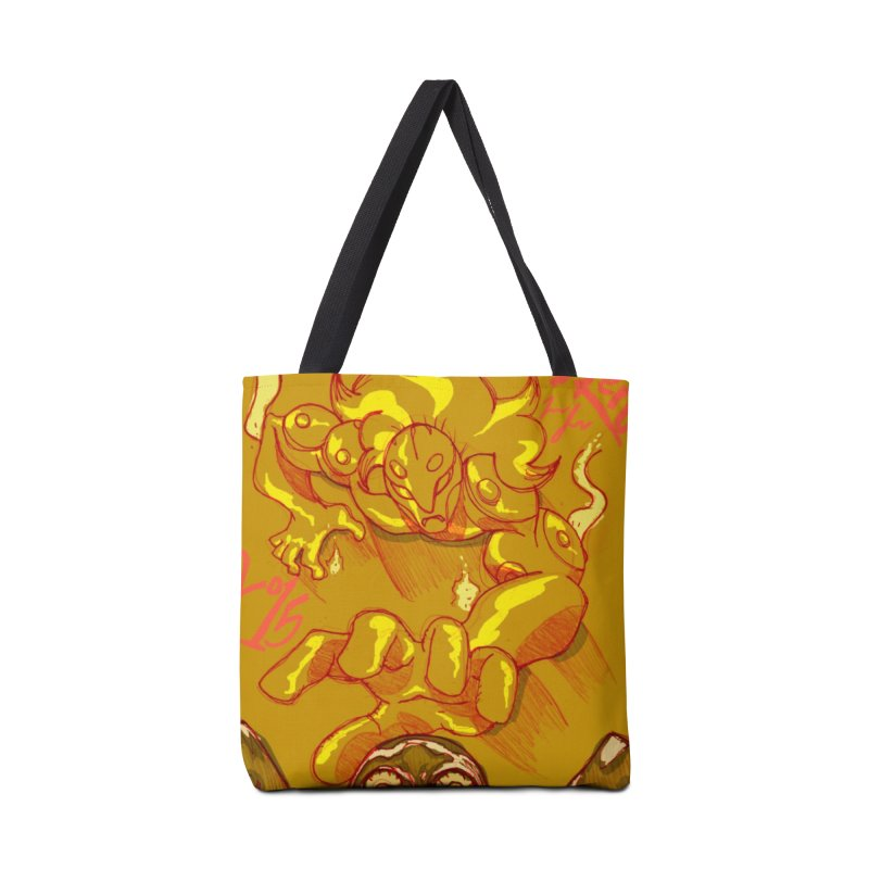 Hand of Fate Accessories Tote Bag Bag by MillsburyMedia's Artist Shop