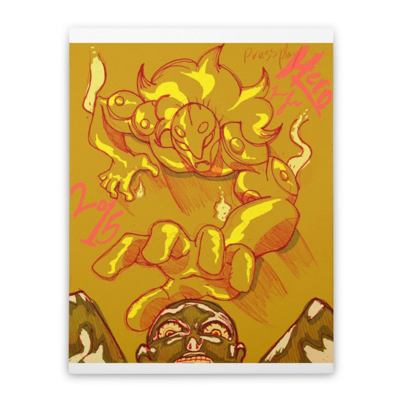 Hand of Fate Home Stretched Canvas by MillsburyMedia's Artist Shop