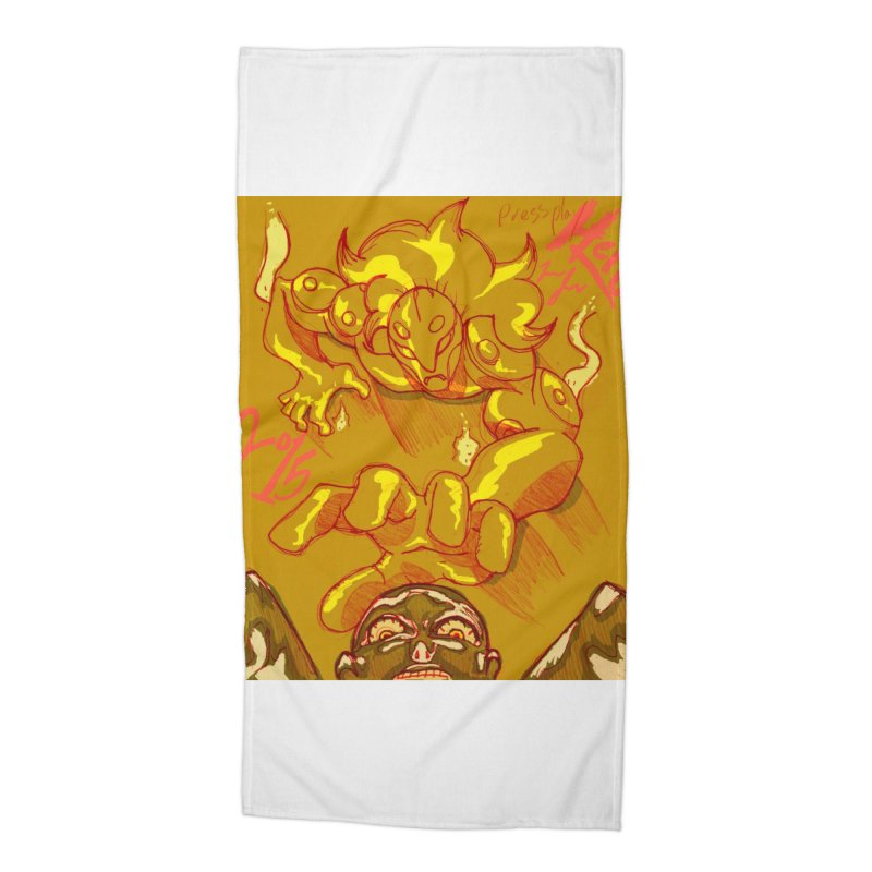 Hand of Fate Accessories Beach Towel by MillsburyMedia's Artist Shop