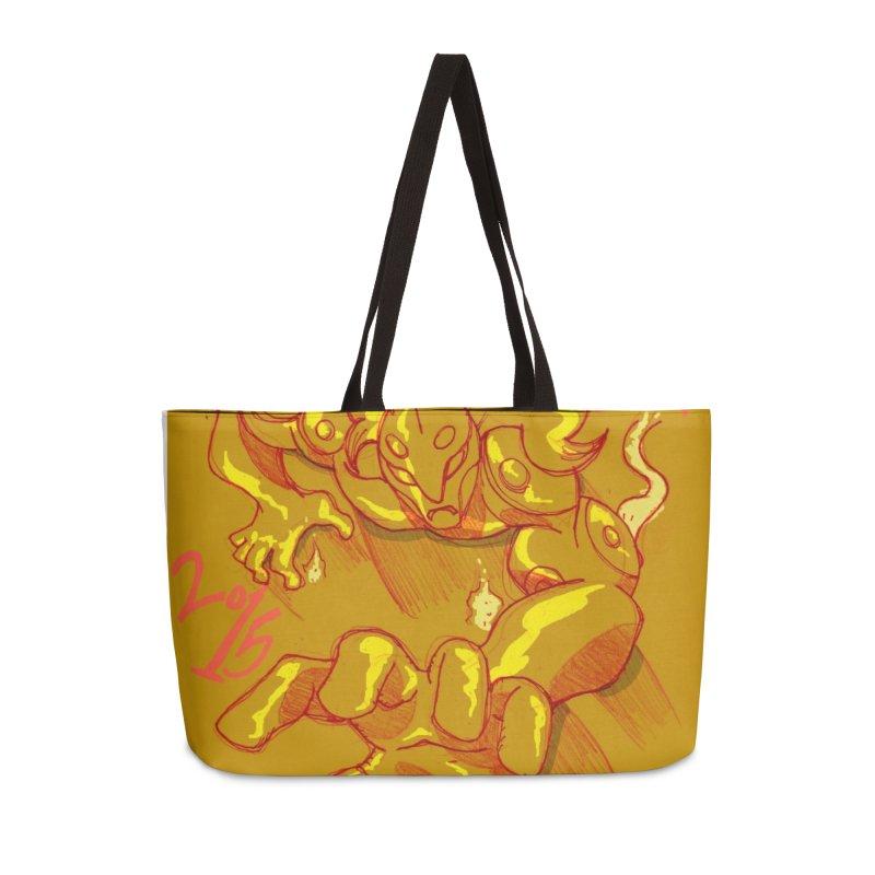 Hand of Fate Accessories Weekender Bag Bag by MillsburyMedia's Artist Shop