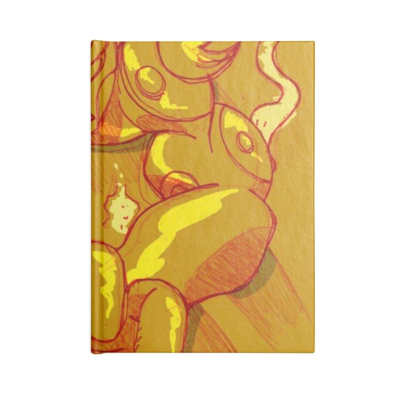 Hand of Fate Accessories Blank Journal Notebook by MillsburyMedia's Artist Shop