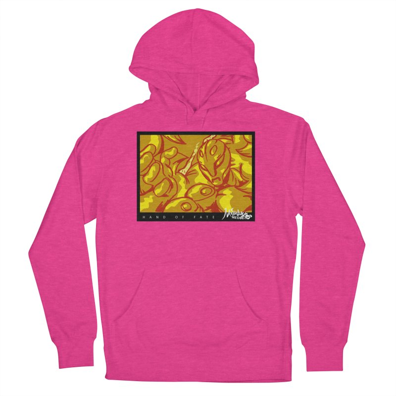 Hand of Fate Version Two Women's French Terry Pullover Hoody by MillsburyMedia's Artist Shop