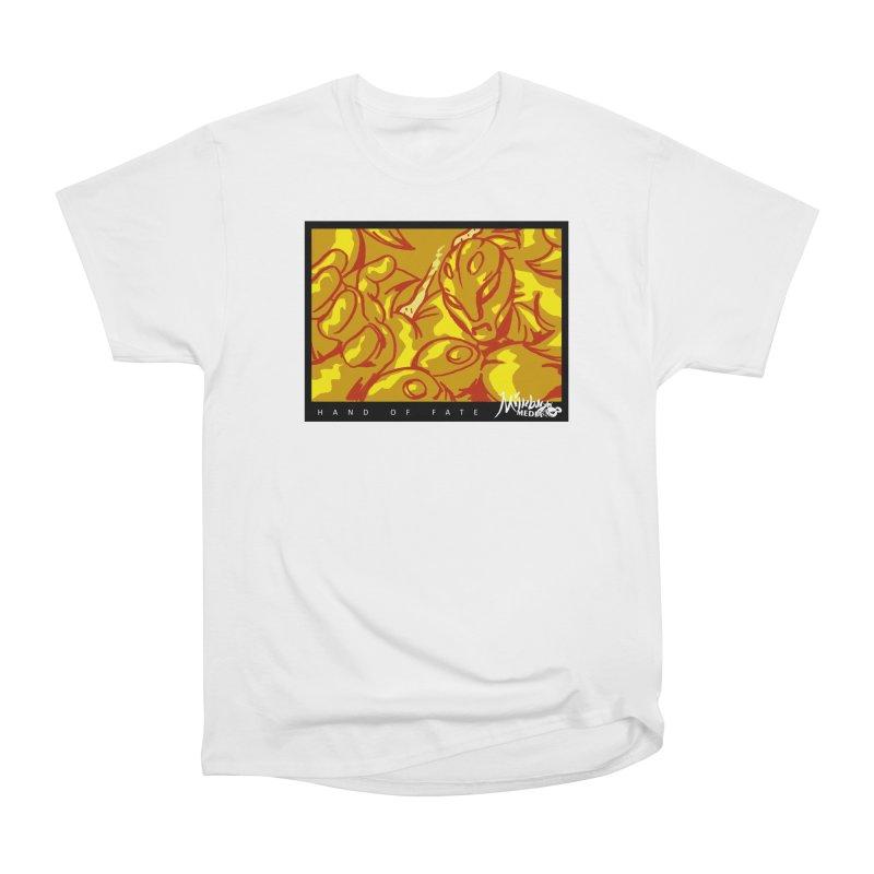 Hand of Fate Version Two Women's Heavyweight Unisex T-Shirt by MillsburyMedia's Artist Shop