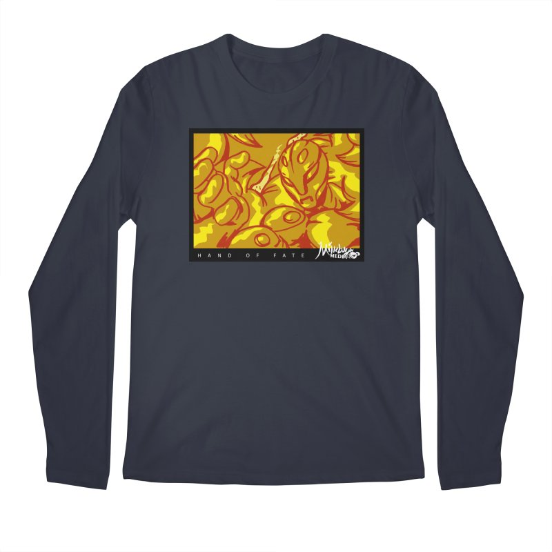 Hand of Fate Version Two Men's Regular Longsleeve T-Shirt by MillsburyMedia's Artist Shop
