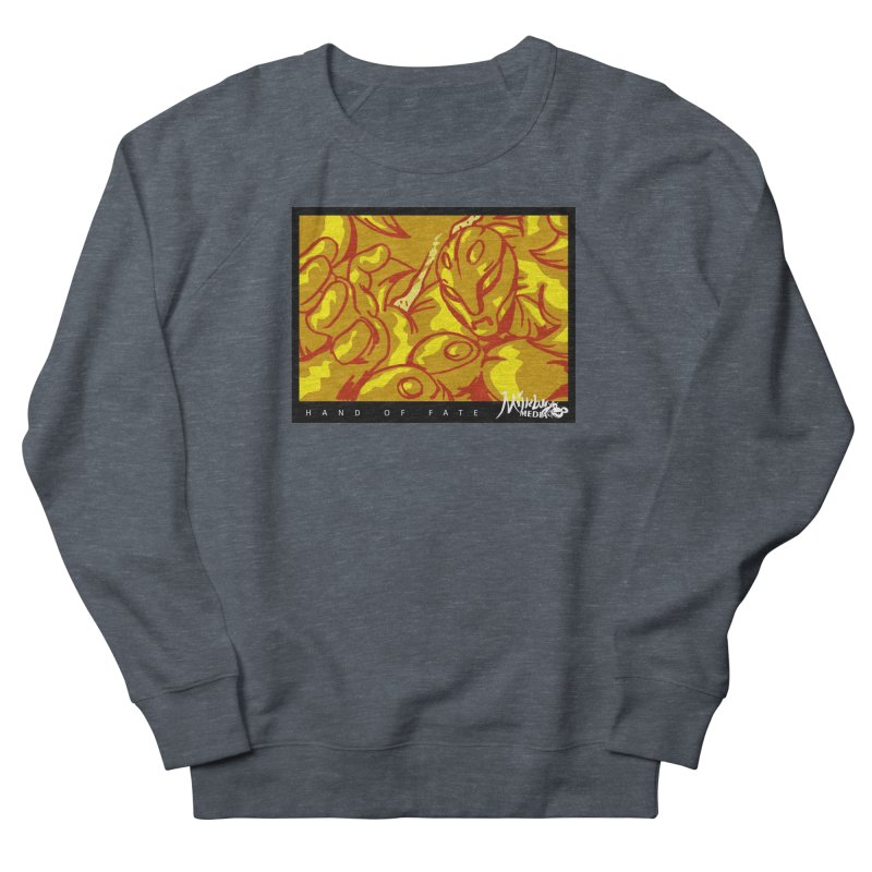 Hand of Fate Version Two Men's French Terry Sweatshirt by MillsburyMedia's Artist Shop