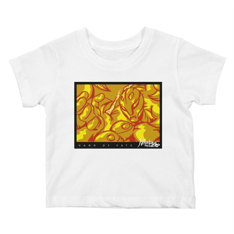 Hand of Fate Version Two Kids Baby T-Shirt by MillsburyMedia's Artist Shop
