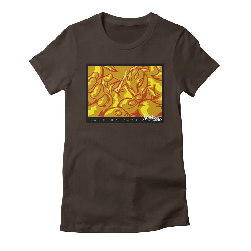 Hand of Fate Version Two Women's Fitted T-Shirt by MillsburyMedia's Artist Shop