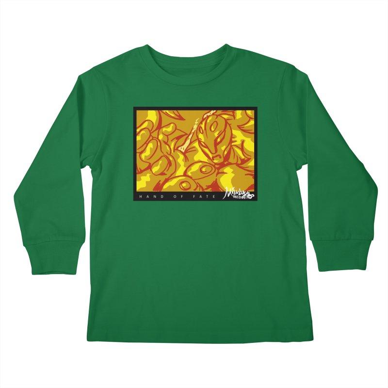 Hand of Fate Version Two Kids Longsleeve T-Shirt by MillsburyMedia's Artist Shop