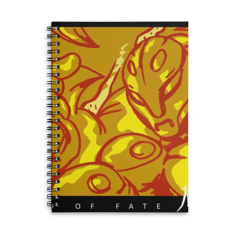 Hand of Fate Version Two Accessories Lined Spiral Notebook by MillsburyMedia's Artist Shop