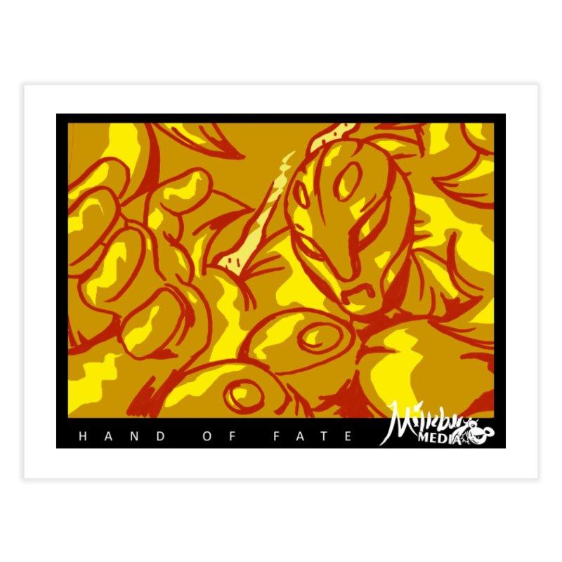 Hand of Fate Version Two Home Fine Art Print by MillsburyMedia's Artist Shop