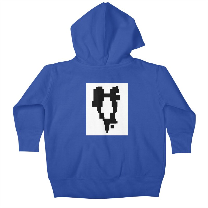 The Atomic Slugs Logo Kids Baby Zip-Up Hoody by MillsburyMedia's Artist Shop