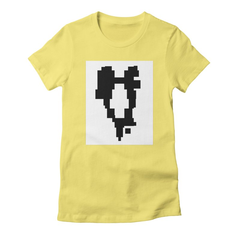 The Atomic Slugs Logo Women's Fitted T-Shirt by MillsburyMedia's Artist Shop