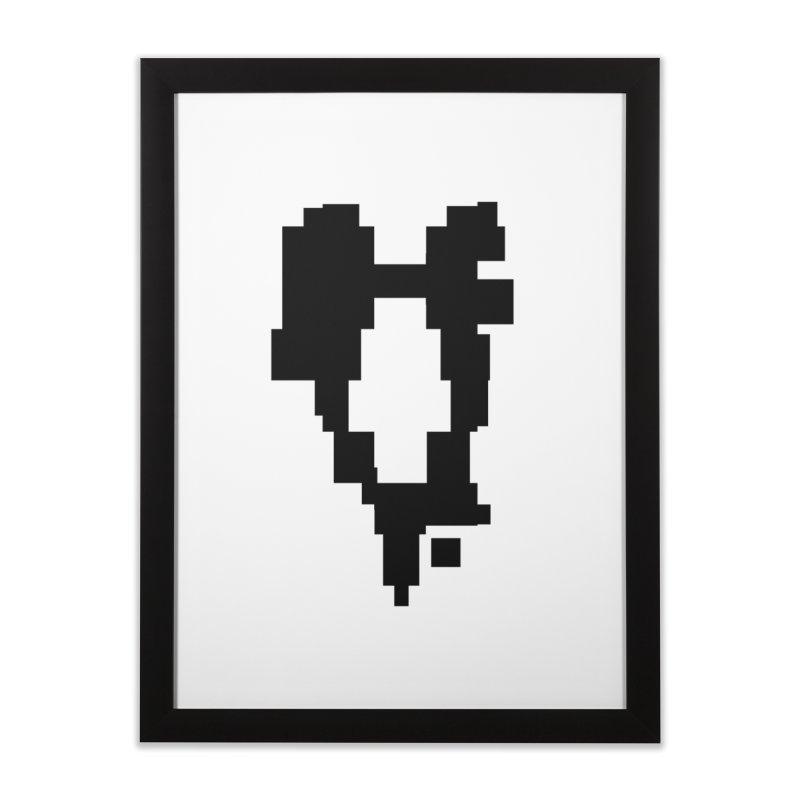 The Atomic Slugs Logo Home Framed Fine Art Print by MillsburyMedia's Artist Shop