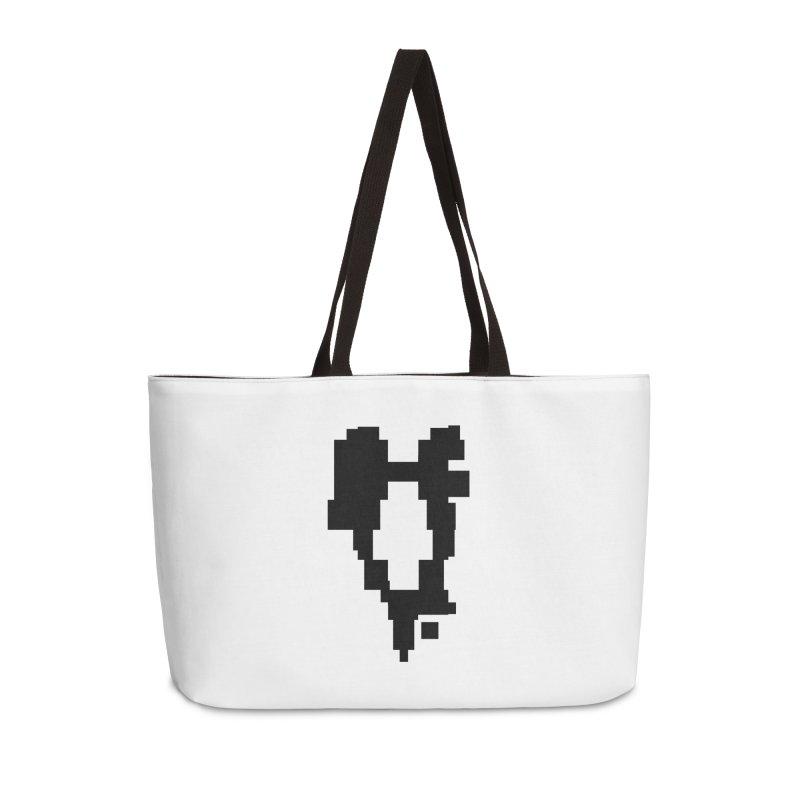 The Atomic Slugs Logo Accessories Weekender Bag Bag by MillsburyMedia's Artist Shop