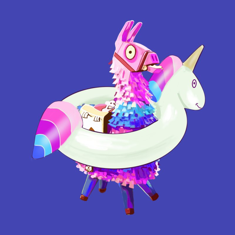 Mimie Loot Llama Fortnite With A Unicorn Buoy Home Mounted