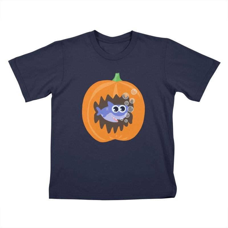 5beff273fcfe Baby shark Halloween Kids T-Shirt by Mimie s Artist Shop