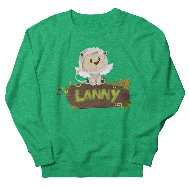 Lanny the Lion Women's Sweatshirt by Mimundogames's Artist Shop