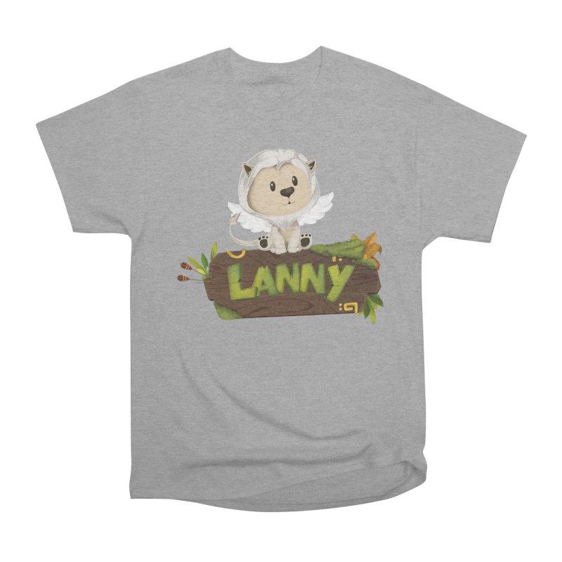 Lanny the Lion Women's Heavyweight Unisex T-Shirt by Mimundogames's Artist Shop