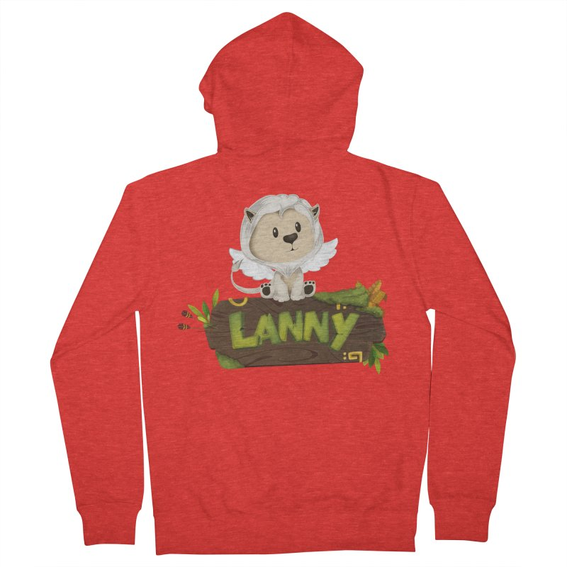 Lanny the Lion Women's Zip-Up Hoody by Mimundogames's Artist Shop