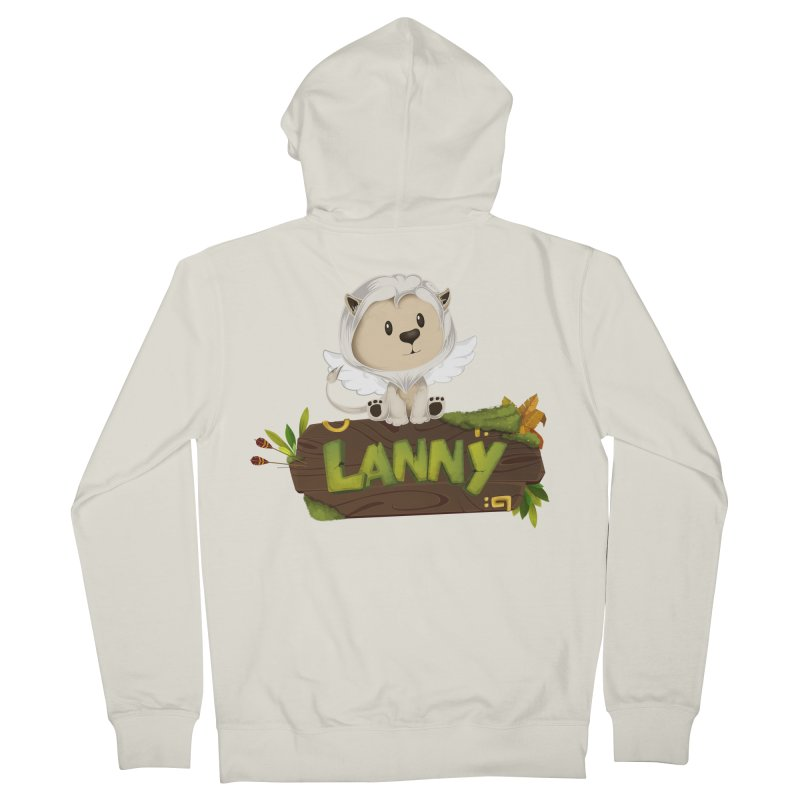 Lanny the Lion Women's Zip-Up Hoody by Mimundogames's Artist Shop