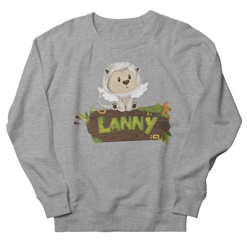 Lanny the Lion Women's French Terry Sweatshirt by Mimundogames's Artist Shop