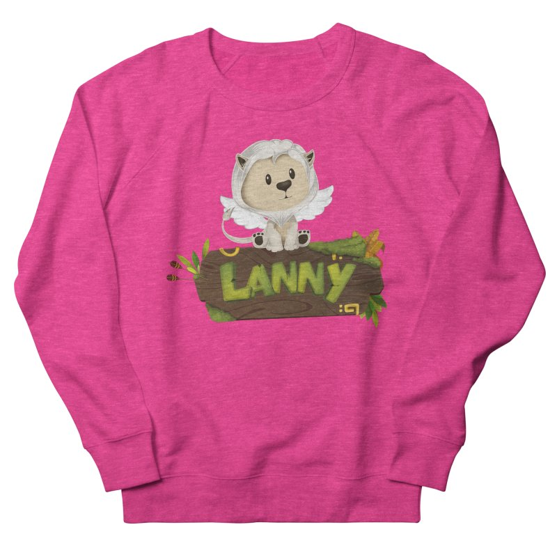 Lanny the Lion Women's French Terry Sweatshirt by Mimundogames's Artist Shop